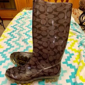 Authentic Coach rainboots